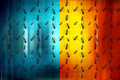 Pracownik mrówki ilustracji