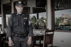 Pracownik ochrony Bali, Indonezja. Zdjęcie Royalty Free