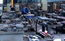 Pracownik w fabryce Zdjęcie Royalty Free
