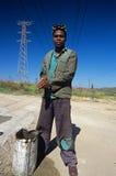 Pracownik w Południowa Afryka. Obrazy Stock