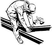 Pracownika dopasowania drymby Zdjęcie Stock