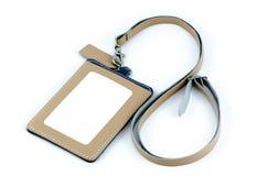 Pracownika ID odznaki skóra zdjęcie royalty free