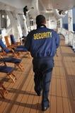 Pracownika ochrony patrolować Fotografia Royalty Free