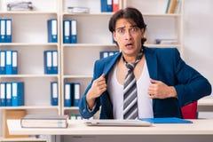 Pracownika przybycie pracowa? prosto od ? obrazy royalty free