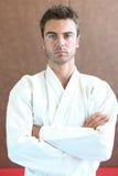 Practe del judo Imágenes de archivo libres de regalías