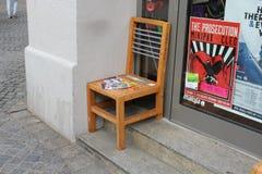 Practical Chair in Regensburg Royalty Free Stock Image