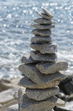 Practical example of inner equilibrium. In nature Royalty Free Stock Photo