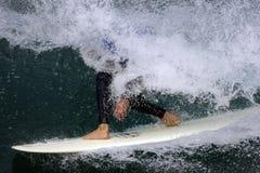 Practicar surf 003 Imágenes de archivo libres de regalías