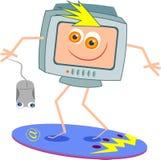 Practicar surf el Internet Imagen de archivo