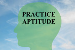 Practice Aptitude concept Royalty Free Stock Photography