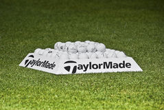 Practice Balls - Taylormade Stock Image