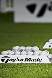 Practice Balls - Taylormade Royalty Free Stock Image
