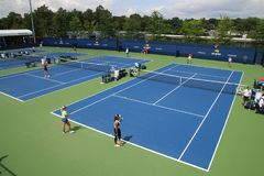 Practice courts Royalty Free Stock Image