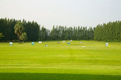 Practice Golf Course Royalty Free Stock Photo