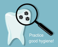 Practice good hygiene Royalty Free Stock Photography