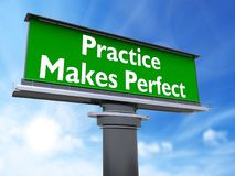 Free Practice Makes Perfect Royalty Free Stock Photos - 116264088