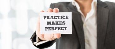 Free Practice Makes Perfect Stock Photo - 51591680