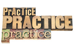 Practice - motivation concept royalty free stock images