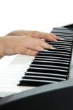 Practice Piano Stock Image