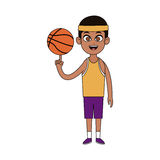 Practice sports design Royalty Free Stock Images