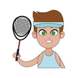 Practice sports design Royalty Free Stock Photography