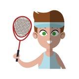 Practice sports design Royalty Free Stock Photos