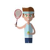 Practice sports design Stock Image