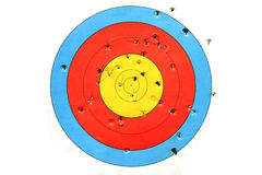 Practice target used for shooting Royalty Free Stock Photography