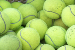 Practice Tennis Balls Royalty Free Stock Images
