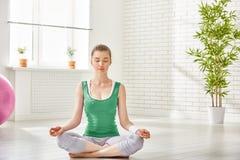 Practice yoga Stock Photography