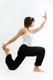 Practicing yoga Stock Photos
