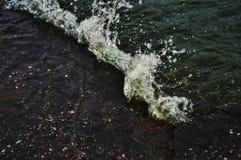 Practique surf el río de Minsk foto de archivo libre de regalías
