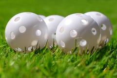 Practise golfing balls. Practise golf ball Stock Photo