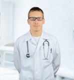 Practitioner man doctor Stock Image