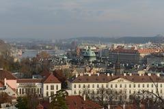 Pracue Όψεις της πόλης στοκ φωτογραφία