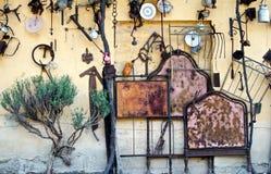 Pracująca ściana Zdjęcia Stock