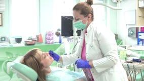 Pracujący środowisko w stomatologicznym biurze zbiory