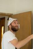 Pracujący mężczyzna zdjęcie royalty free