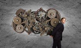 Pracujący mechanizm Fotografia Stock
