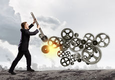 Pracujący mechanizm Zdjęcie Stock