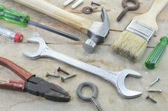 Pracujący narzędzia Obrazy Stock