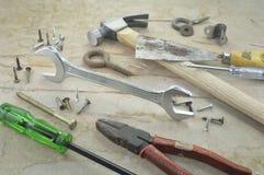 Pracujący narzędzia Obraz Stock