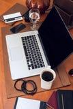 Pracujący biurko Obrazy Stock