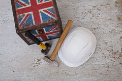 Pracujący imigranci UK Zdjęcie Royalty Free