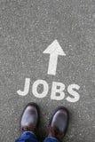 Pracy, akcydensowy pracujący rekrutacyjny pracownika biznesu pojęcie Obraz Stock