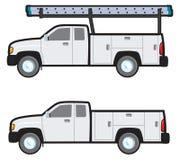 Pracy ciężarówka Obrazy Royalty Free