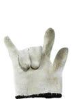 Pracy rękawiczka obraz royalty free