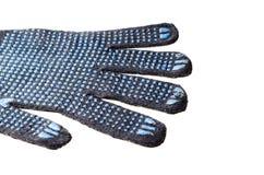 Pracy rękawiczka odizolowywająca na bielu zdjęcia royalty free