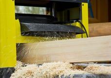 Pracy woodworking maszynowy narzędzie Zdjęcie Royalty Free