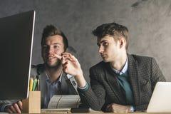 Pracy zespołowej, komunikaci i pracy pojęcie, Zdjęcia Stock